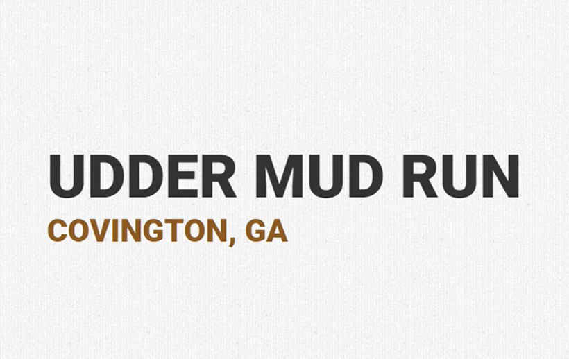 Udder Mud Run