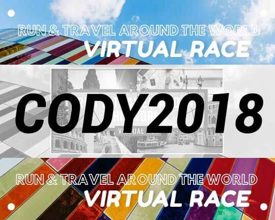 Virtual Race and Travel Around the World Sample BIB