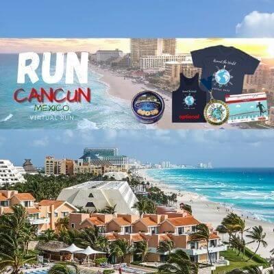 Run Cancun, Mexico Virtual Race (1)