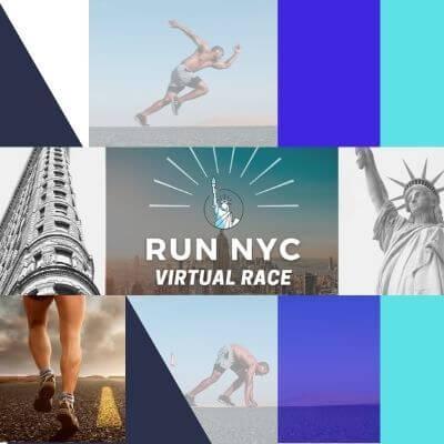 Run NYC Virtual 5K10KHalf-Marathon